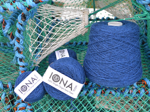 Iona Wool Blue