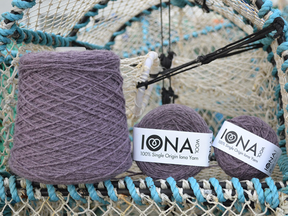 Iona Wool Purple