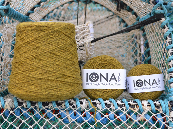 Iona Wool Yellow